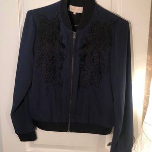 Mika Mindel Dark Blue Jacket - Gorgeous!